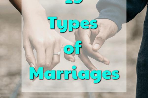 19 types de mariages – Luvze