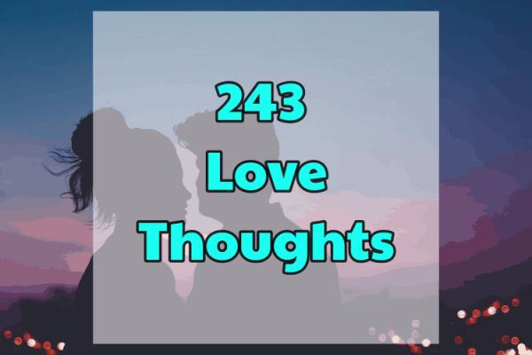 243 pensées d'amour – Luvze